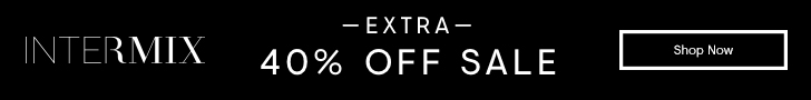The So Extra Summer Sale: Additional 40% off sale items in stores and online at INTERMIX! Limited time only.
