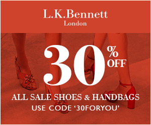 Shop LK Bennett Now To Get An Extra 30% Off Shoes & Bags! Use code: 30FORYOU