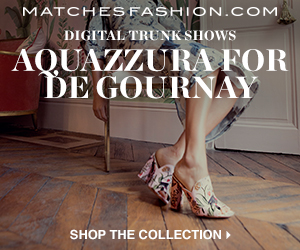 Aquazzura for de Gournay - 300x250
