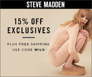 15% off Exclusives plus Free Shipping with promo code WILD. Valid 4/1-4/30