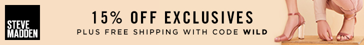 15% off Exclusives plus Free Shipping with promo code WILD. Valid 5/1-5/31