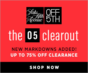 The OFF 5TH CLEARANCE CLEAROUT
