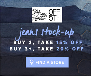 Jeans Stock Up Event
