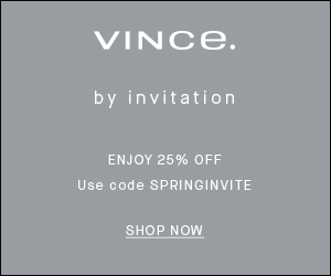 By Invitation: Enjoy 25% Off Sitewide w/ Code: SPRINGINVITE