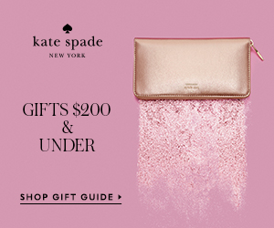 under $200: this season, give a little joy and shop the holiday gift guide at kate spade!