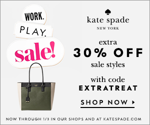 work. play. sale! enjoy an extra 30% off sale styles online and in stores with code EXTRATREAT starting 12/6. shop now!