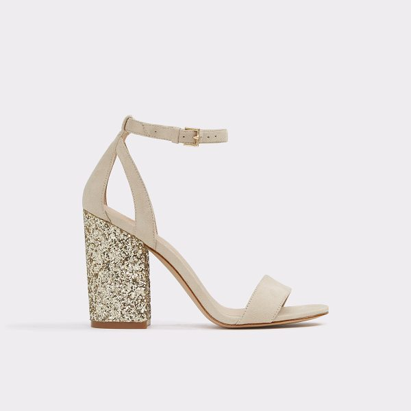 ALDO Abadolian - Rise and shine in our sparkle covered block heel sandals....