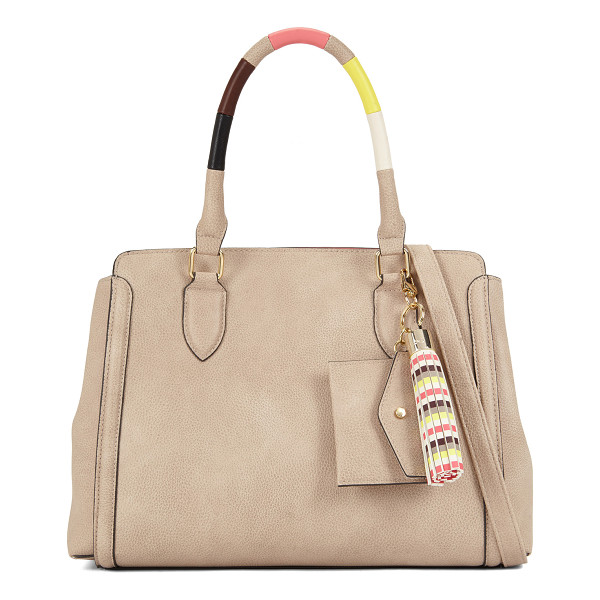 ALDO Acawien - This satchel livens up its classic silhouette with an