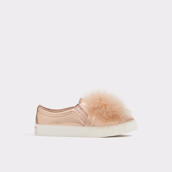 ALDO Acelasien - A total must for tomboys - this feather topped sneaker...