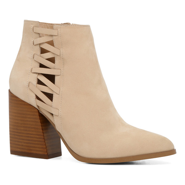 ALDO Alenama - That bootie though. Cutout panels and a high stacked heel...