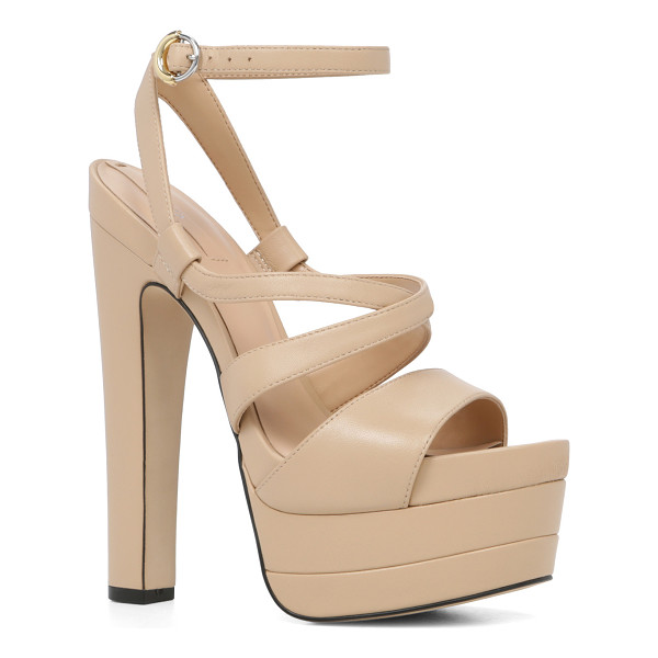 ALDO Alesen - High drama: our statement sandal stands tall with a bold