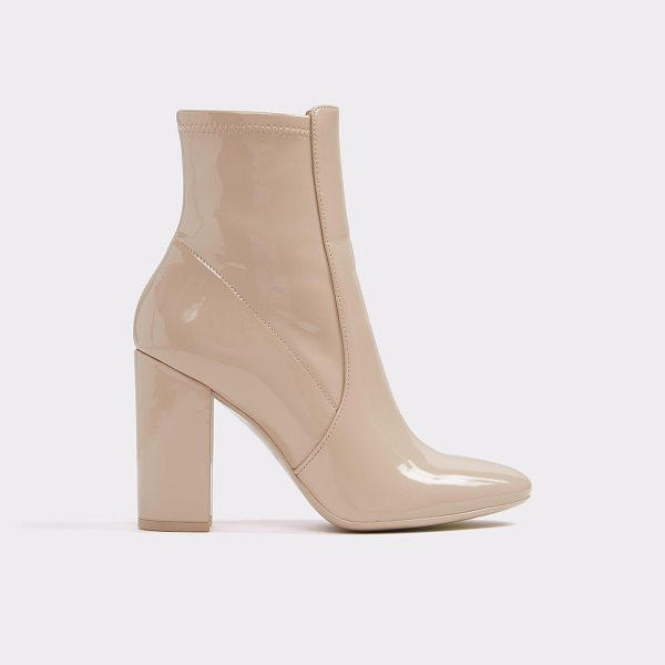 ALDO Aurella - Reflections of. sock-like ankle boots and block heels are...