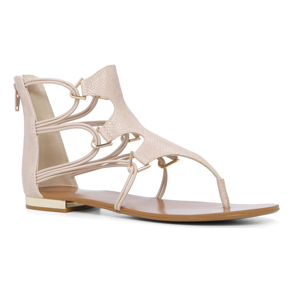 ALDO Barbiana sandals - Summer's favorite shoe gets a refined lace-up update...