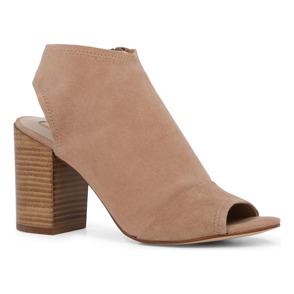 ALDO Barefoot - A sandal and bootie play peek-a-boo for the perfect...