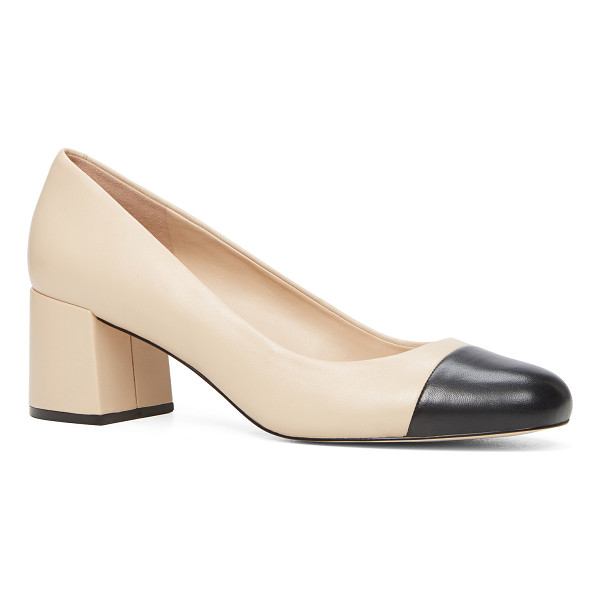 ALDO Bellone - Channel demure sophistication in this two-tone capped-toe...