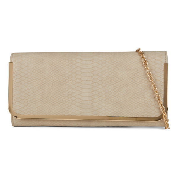 ALDO Bidwell clutch - This classic clutch will add a shiny and trendy touch to...