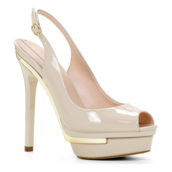 ALDO Bitta pumps - Be the star of the evening with these alluring two-tone...