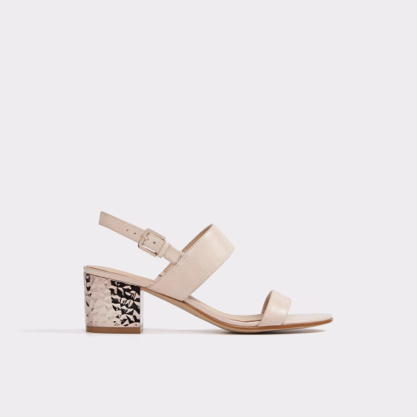 ALDO Brandey - A slingback ankle-strap and (walkable) low block heel...