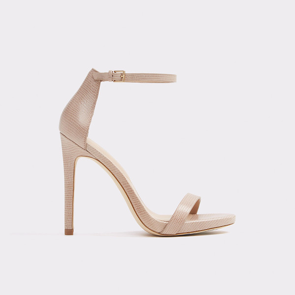 ALDO Caraa - A timeless bare-all ankle-strap high heel sandal that