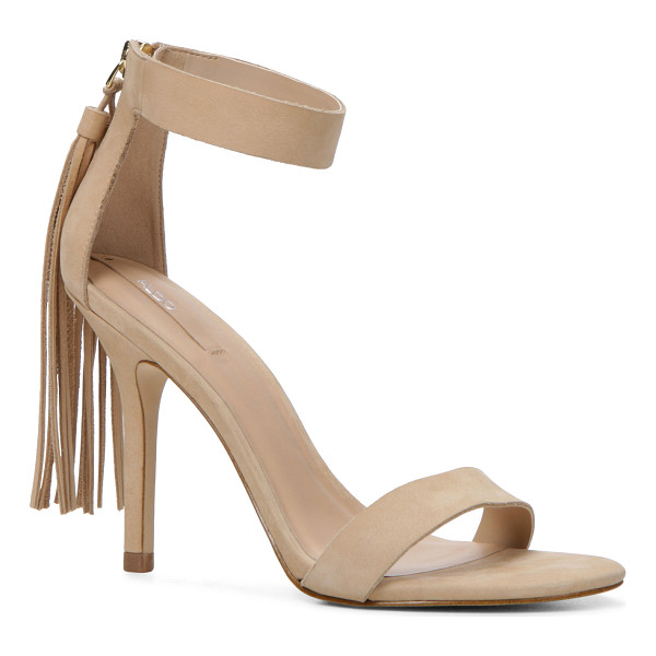 ALDO Celena sandals - This stunning stand-out features a fringe cape, minimalist...