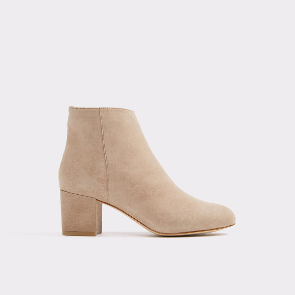 ALDO Ciredia - All-over suede and block heel unite for a festival-worthy