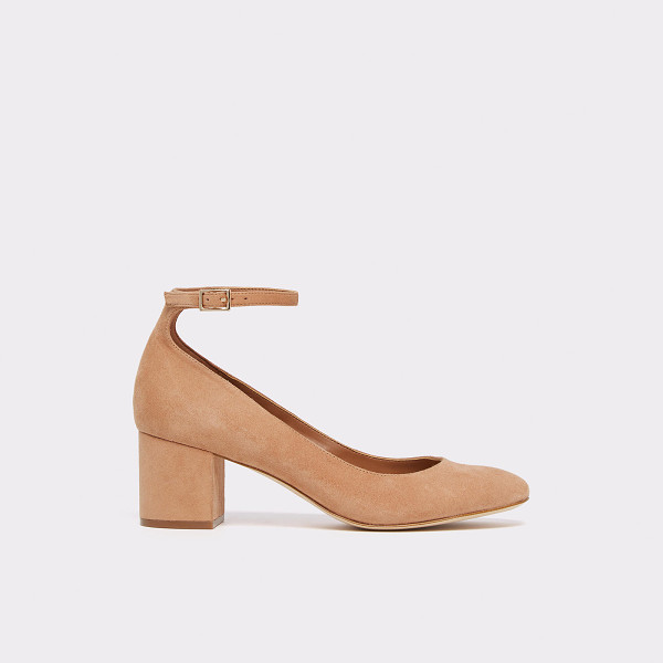 ALDO Clarisse - Made of rich leather and suede, these chic ankle strap