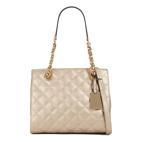 ALDO Clearbrook - Set sails for style with this quilted mini tote, decorated