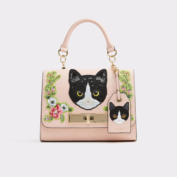 ALDO Corvara - This playful purse, featuring feline faces, is the...