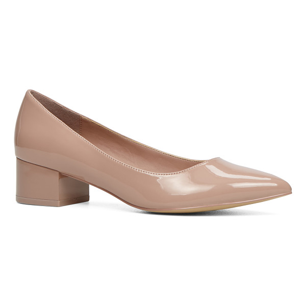 ALDO Deloris - This slip-on, block-heel, pointed-toe pump is your next