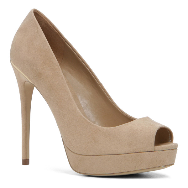 ALDO Depietro - The open-toe pump is never NOT in style. Keep these handy...