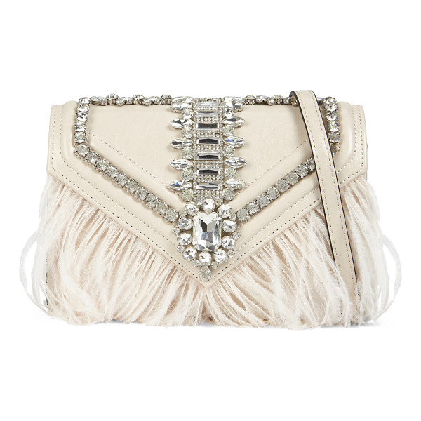 ALDO Eckstein clutch - This pretty clutch will make a shining sensation wherever...