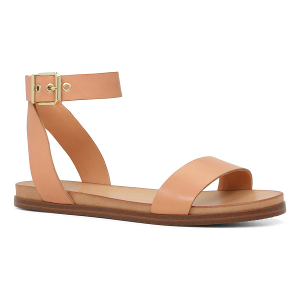 ALDO Erina - A two-piece sandal with a cool, minimal aesthetic is down...