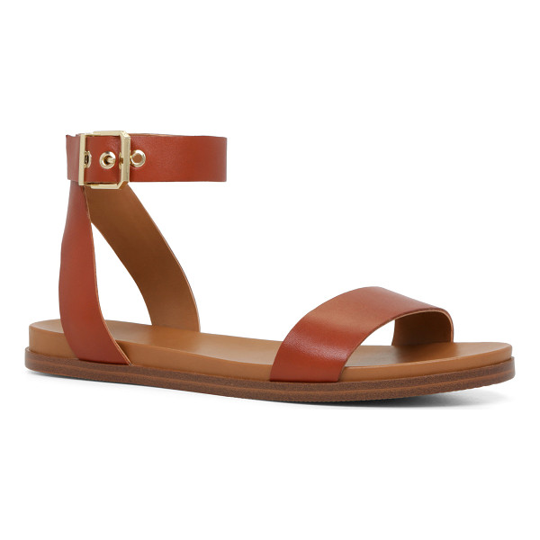 ALDO Erina sandals - A two-piece sandal with a cool, minimal aesthetic is down...