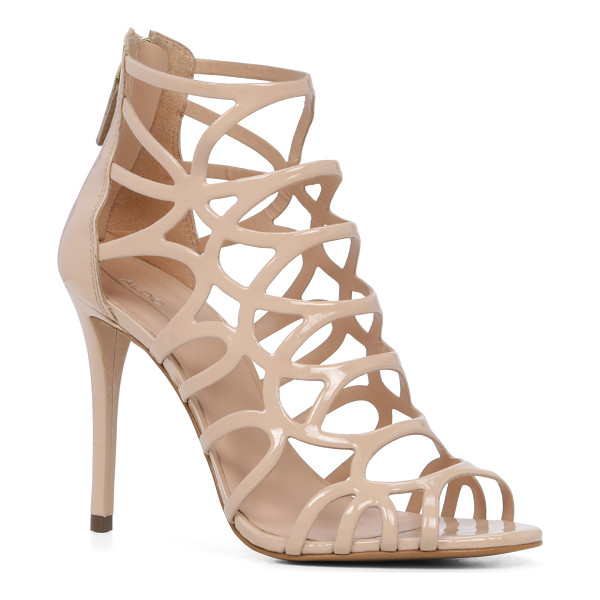 ALDO Eryde - A striking caged sandal -set on a stiletto heel features a...