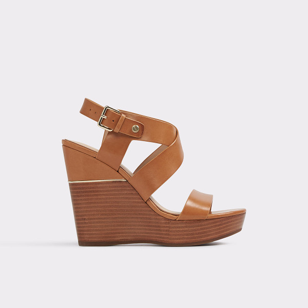 ALDO Faustina - Standout wedge sandal takes the boho look to sophisticated...