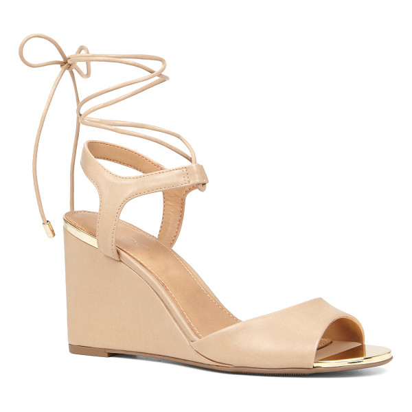 ALDO Frizzell - A stylish wedge sandal with straps that tie at the ankle or...