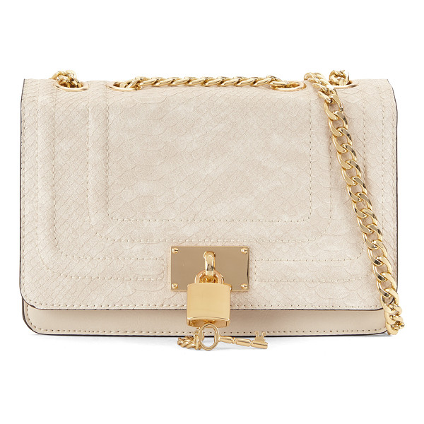 ALDO Gloang sandals - Secrets are safe with this small crossbody bag and its...