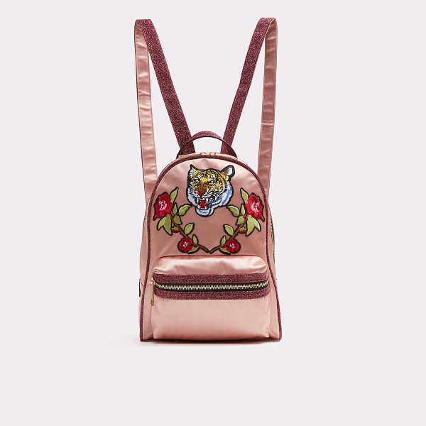 ALDO Grawn - Embellished with tiger head and rose patches, this backpack
