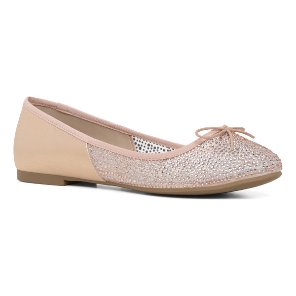 ALDO Gweidda flats - Rhinestones and dainty bow sweetens up the everyday flat. -...