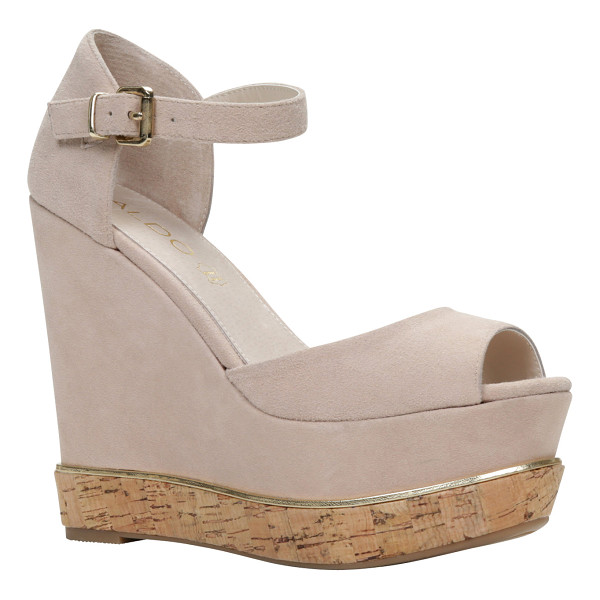 ALDO Haelille sandals - These beautiful mega-wedge sandals will look amazing with...