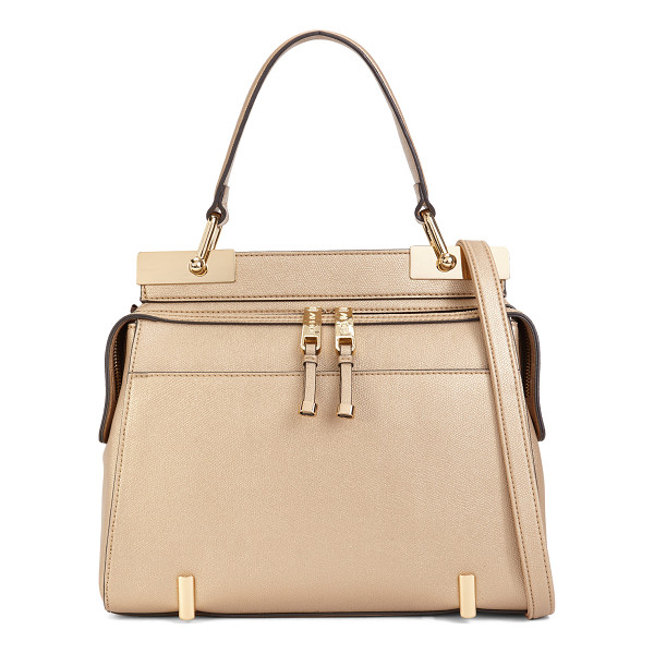 ALDO Honeyberry - This curvaceous top handle bag is the definition of boxy