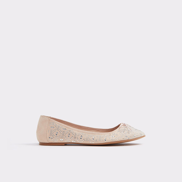 ALDO Indro - The new face of lace steps out as a sheer ballet flat. From