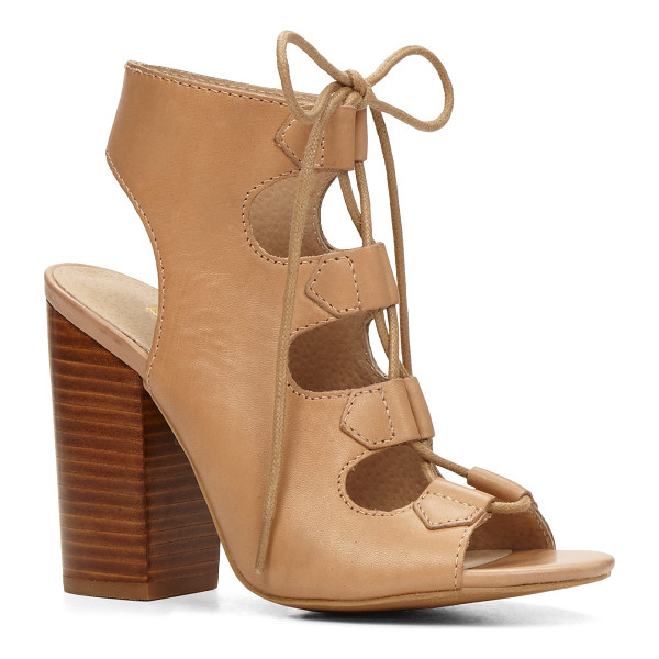 ALDO Janne - A bootie-style silhouette with gladiator lace-up accents...