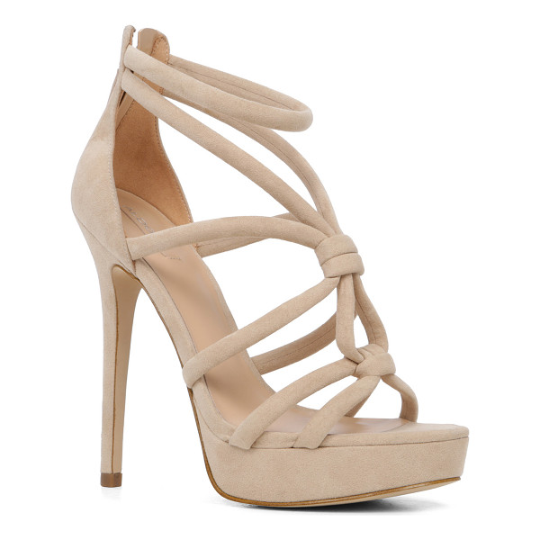 ALDO Jerillan - Now this is how we tie the knot: crisscross suede straps...