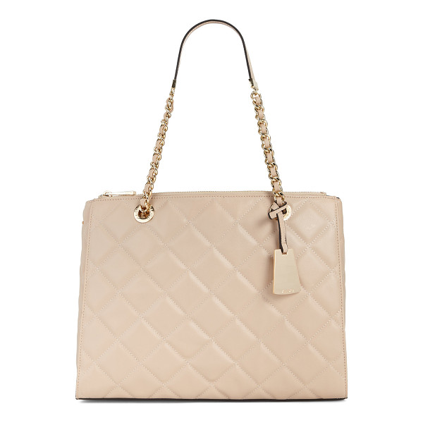 ALDO Katty - This quilted tote with a decorative handle is a must for a