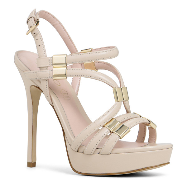 ALDO Kenasa sandals - Two-piece. - Platform. - Almond toe. - Open toe. - Metal...