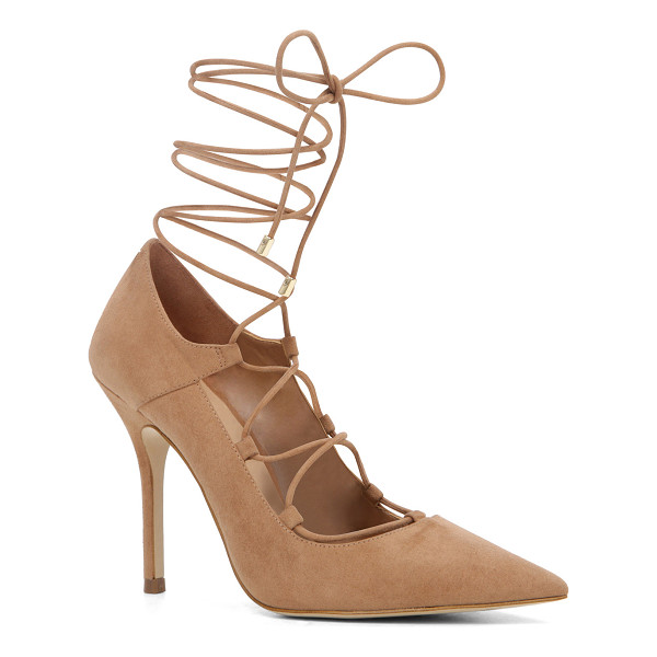 ALDO Kenneson - A stand-out stiletto sexed up with leg-climbing laces.