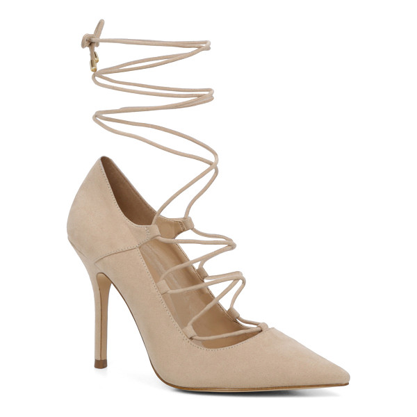 ALDO Kenneson - A stand-out stiletto sexed up with leg-climbing laces....