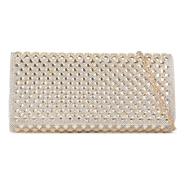 ALDO Kolp - This jaw-dropping rhinestone-adorned evening clutch will