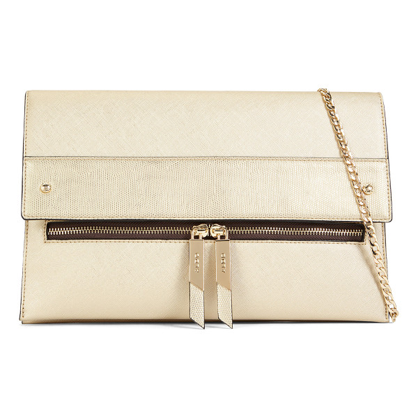 ALDO Laroawiel - Gently oversized, this foldover bag with zipper detail is...